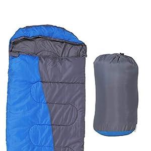 ZENITHIKE Sleeping Bag Single Envelope Portable Adult Sleeping Bag Size 708118295 Inch Great For 4 Season