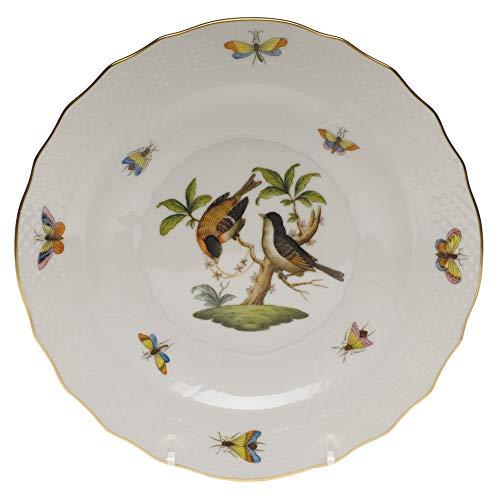 Herend Rothschild Bird Porcelain Salad Plate Motif #12