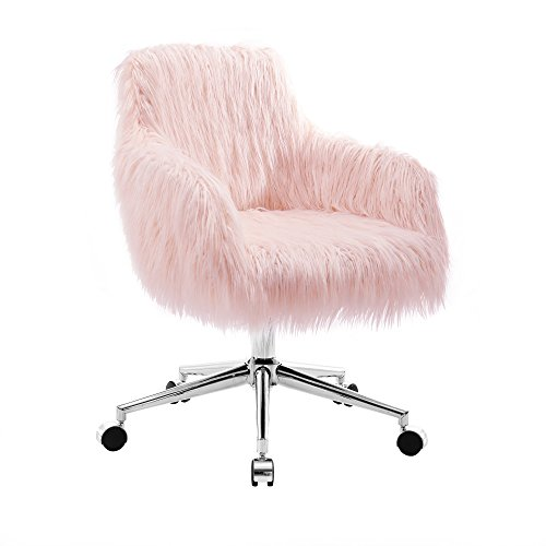 (Linon OC050FLOK01U Chair Chrome)