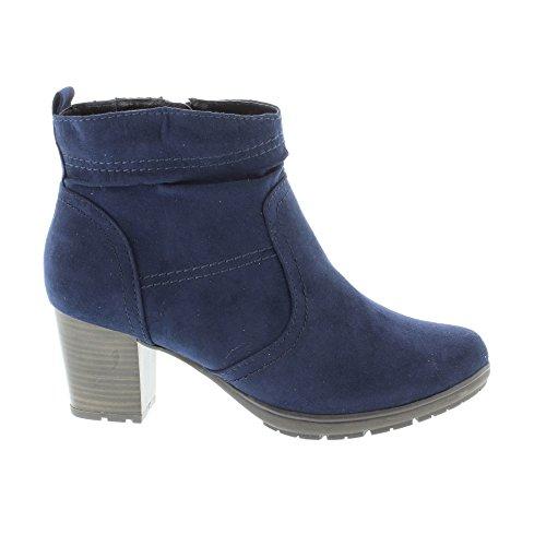 Softline 25371, Botas para Mujer Azul (Navy)