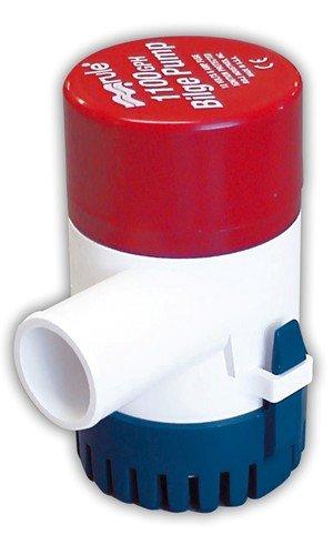 Rule 27D 1100 GPH Marine Bilge Pump, Non-Automatic, Submersible, 12 Volt 1100 Bilge Pump