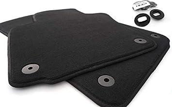 Fußmatten Passend Für Passat 3c B6 B7 Velours Set Automatten 2 Teilig Vorn Auto