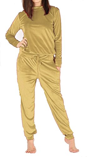 Comfiestyle - Chándal - para mujer dorado