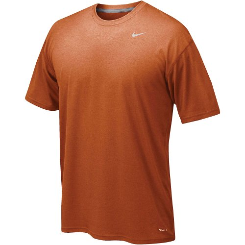 - Nike Lacrosse T-Shirt - Nike Legend Poly Top Amber L Lacrosse T-Shirt