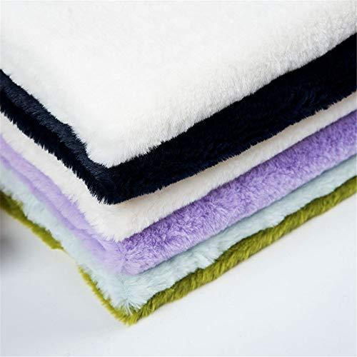 Hongma A4 Tela de Pelo Sintetico Tenido Tela Piel Sintetica de Fur Pelo Corto 300g/m2 para Manualidades Costura Patchwork