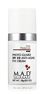 M.A.D SKINCARE SOLAR PROTECTION: Photo Guard SPF 20 Anti Aging Eye Cream - 15g