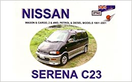 nissan serena 91 01 owners manual. Black Bedroom Furniture Sets. Home Design Ideas