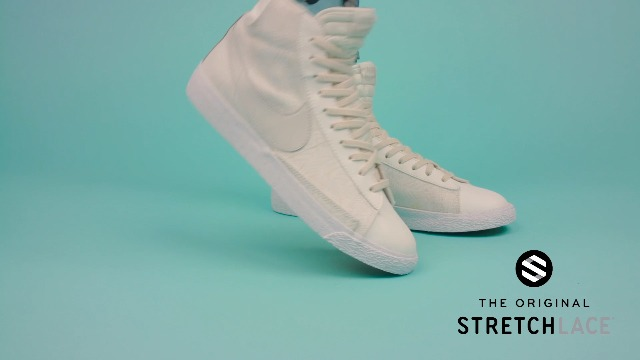 The Original Stretchlace | Elastic Shoe Laces | Flat Stretch Shoelaces