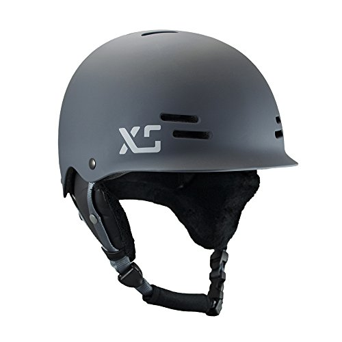 XS Helmets Women's Freeride All-Season Helmet with Removable Ear Covers , Matte Charcoal , X-Small/Small