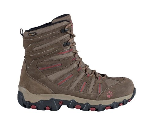 Jack Wolfskin Snow Trekker Gentlemen Texapore brown (Size: 47) winter shoes