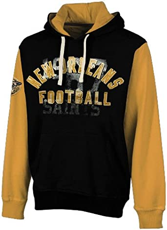 Licensed Sports Apparel New Orleans Football Saints Mens Pullover Jersey Hoodie