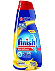 Finish All In 1 Max Concentrated Gels - Lemon Sparkle, 650ml