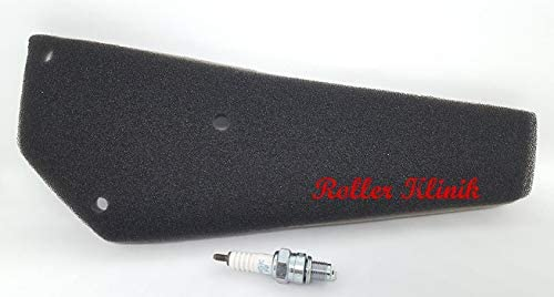 Z/ündkerze und Filtereinsatz Luftfilter 4 Takt China Roller Baotian Znen Benzhou