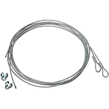 garage door wireAmazoncom Garage Door Cable Replacement Kit  Two 332 inch x 14