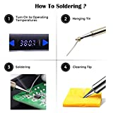 Electronics Soldering Iron Kit- 110V 65W Lcd