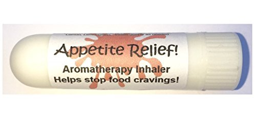 APPETITE RELIEF Aromatherapy Inhaler! Helps Stop Food Cravings. Diet Weight Loss Aid, Hunger Control, Botanical Blend, 100% Natural Drug-Free Alternative Nasal Stick by Urban ReLeaf (Inhaler Appetite Control)