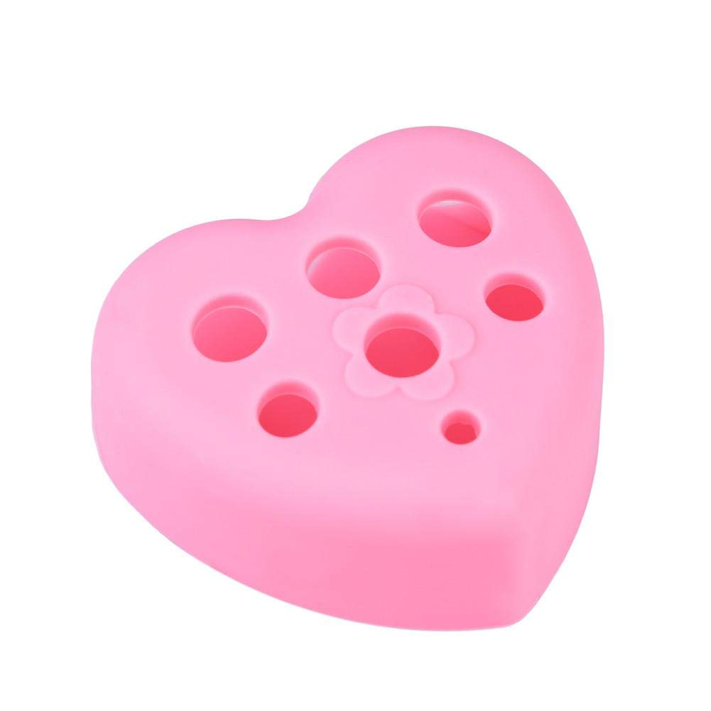 Silicon Washing Tool Heart-shape Make-up Brush Washing