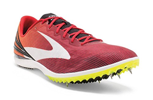 BROOKS Mach 17 Spike Chaussures de running Homme, Rouge, 44