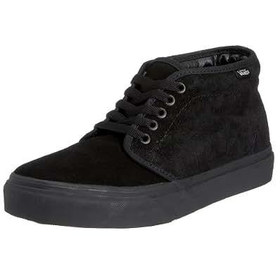 Vans Chukka Boot (Black/Black) Men's Skate Shoes-11.5