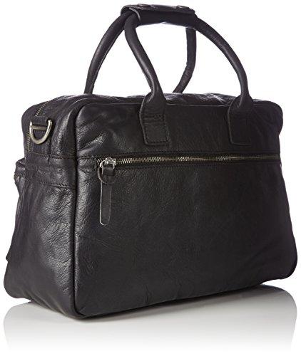 Cowboysbag The Bag Small 1118 Unisex-Erwachsene Henkeltaschen 38x23x14 cm (B x H x T) Black (Schwarz) WDkHPo