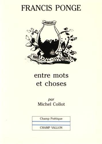 Francis Ponge [Pdf/ePub] eBook