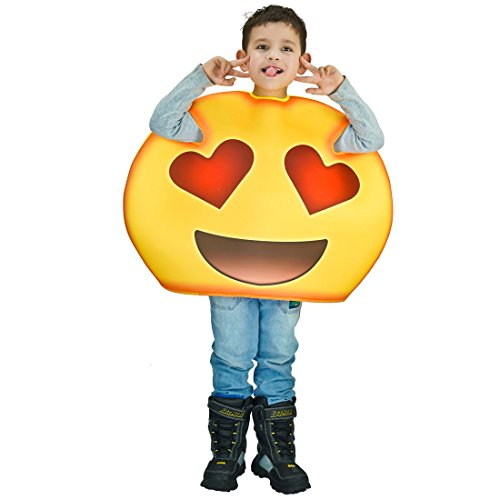 Children Unisex Fun Emoji Costumes Anthomaniac One Size