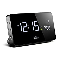Braun - Multi-Function Smartphone Compatible Bluetooth Alarm Clock