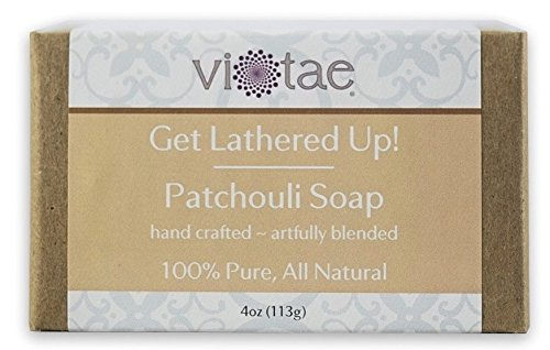 Vi-Tae Organic Patchouli Soap, 4 oz.
