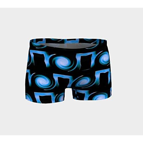 866dc2189a be! yogawear Eco Friendly Workout Shorts Vortex Yoga Shorts Printed Gym  Shorts Boho Artwear Custom