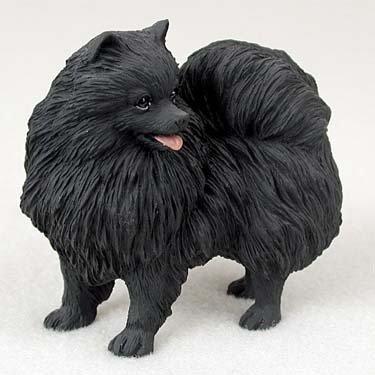 Conversation Concepts Pomeranian Black Standard Figurine