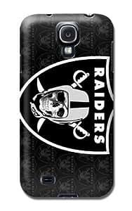 Personalized Monogram Samsung Galaxy S4 Case Samsung Galaxy S4 Tpu Back Cover Oakland Raiders Football Nfl