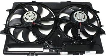 Radiator Cooling Fan For 2009-2016 Audi A4 Quattro 2009-2017 Q5