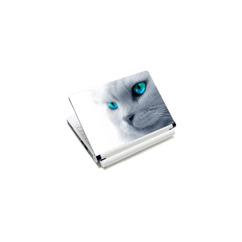 Cute Kitty Cat Laptop Notebook Protective Skin Cover Sticker Decal Protector   12.1 13.3 14 15.6 16 Inch For Panasonic Samsung Sony Toshiba