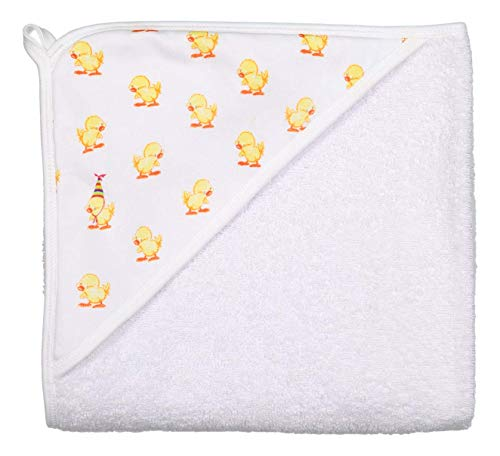 giggle Terry Towel - Baby giggle Duck - Soft Hooded Baby Bath Wrap