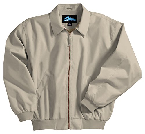 Achiever Microfiber Jacket with Poplin Lining, Color: Sand, Size: ()