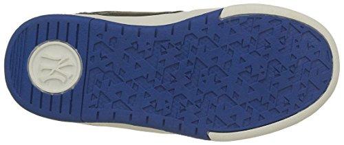MLB Jungen Ferguson Low Sneaker Gris (Dark Grey/Electric Blue 304)