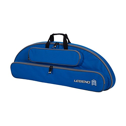 Genesis Blue Bows - Legend Archery Wolf Case Compound Bow Backpack for Genesis Bow with Arrow Tube Pocket (Blue)