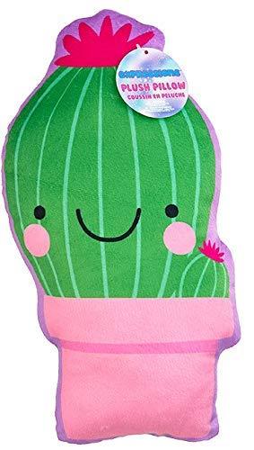 Expressions Soft Cuddly Novelty Throw Pillows Fun for Girls Boys Tweens Teens Kids (Cactus) [並行輸入品] B07TBRXZRV