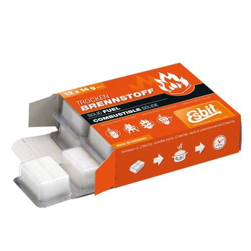 Esbit Solid Fuel Tablets-12x14g by Esbit
