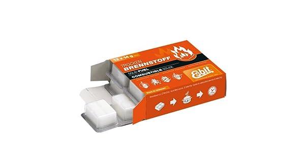 Amazon.com: Esbit combustible sólido tablets-12 X 14g ...