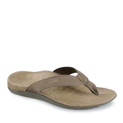 Vionic Wave - Unisex Orthaheel Sandals KHAKI AvgJ3Dc1Y