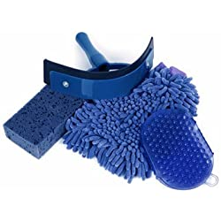 ROMA EASY PACK 4 PIECES WASH KIT ROYAL BLUE