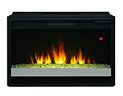 """ClassicFlame 26EF023GRG-201 26"""" Contemporary Electric Fireplace Insert by ClassicFlame"""