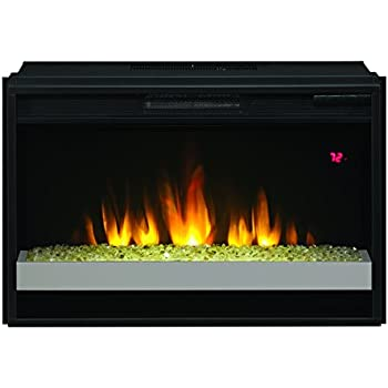 "Amazon.com: ClassicFlame 26EF023GRG-201 26"" Contemporary Electric Fireplace Insert: Home & Kitchen"