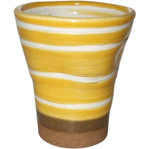 食器 40個セット フリーカップ : ミコノスイエロー グラス/有田焼 1802-326489   B079L5NKYJ