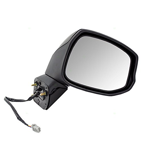 Passengers Power Side View Mirror Replacement for Honda Civic (Honda Civic Side View Mirror)