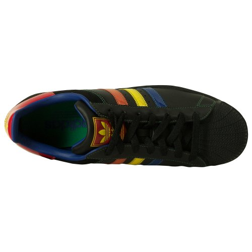 Scarpa Casual Adidas Mens Superstar 2 Cb Nera, Multicolore (10)
