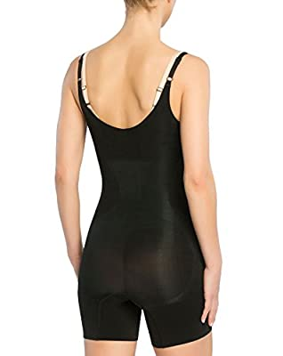 SPANX Womens Plus Size Oncore Open-Bust Mid-Thigh Bodysuit by Spanx