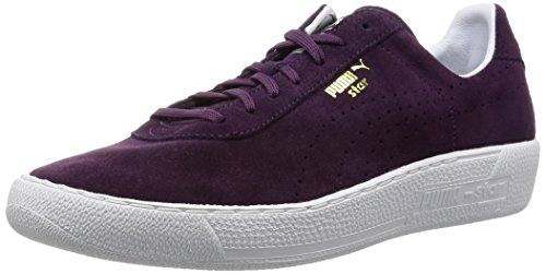 Puma Star Allover Suede Leather Sneaker Men Trainers red 359393 03 Italian Plum