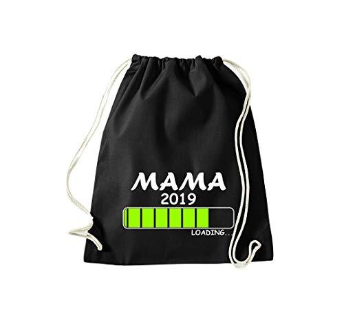 Mama Saco Deporte 2019 Gimnasio Carga Shirtinstyle Bolso Para Negro wYRzwxT